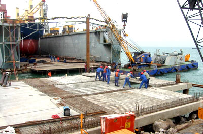Dry dock Walvis Bay